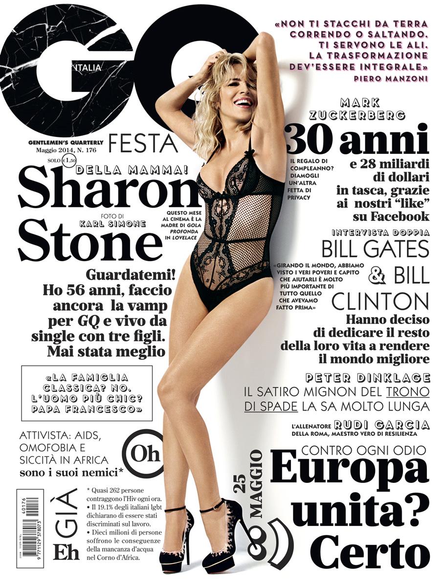 GQ Italia | Sharon Stone