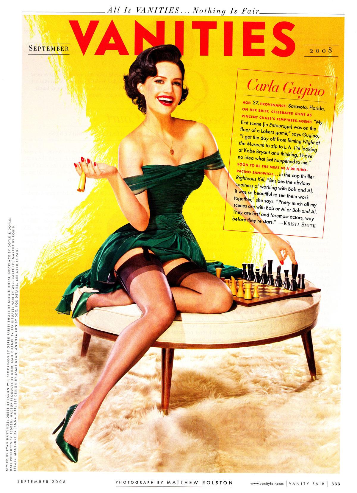Vanity Fair | Carla Gugino
