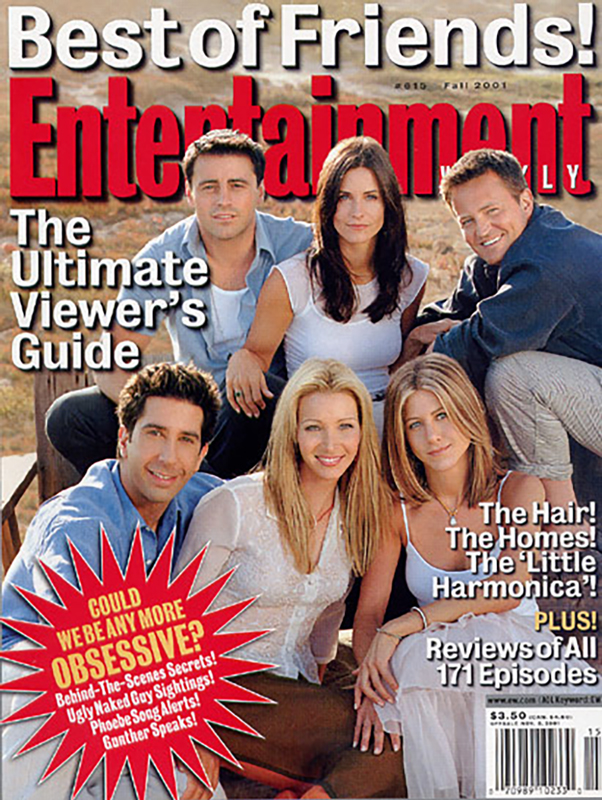 Entertainment Weekly 2001 | FRIENDS Cast