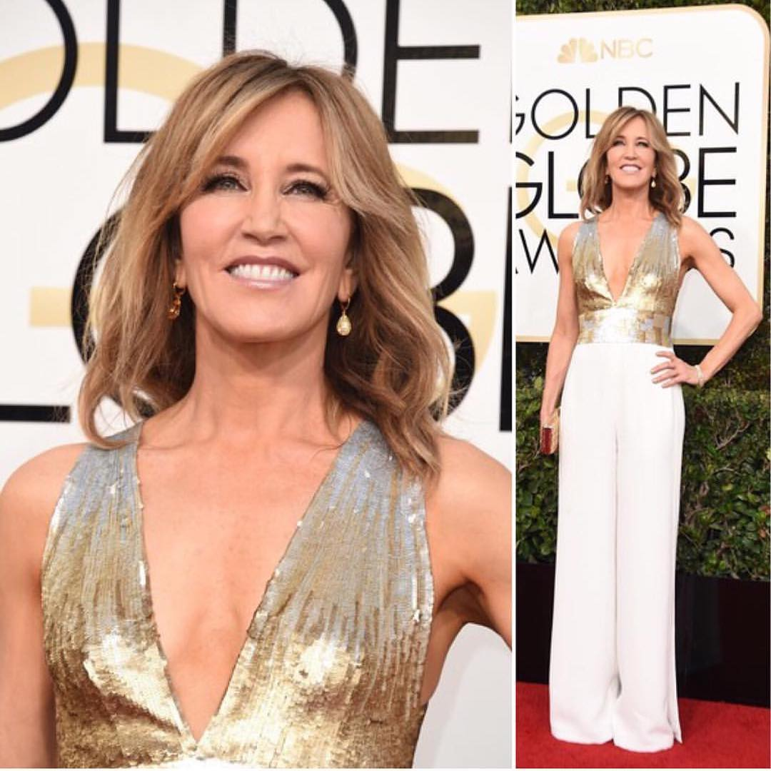 Makeup By Robin Siegel For Kiehl's – Felicity Huffman 74th Golden Globes