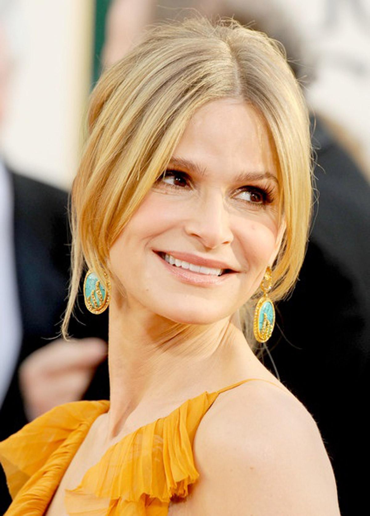 Kyra Sedgwick's Golden Globes Look